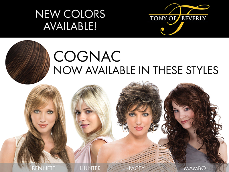 Cognac – Now in 4 more Best Selling Styles