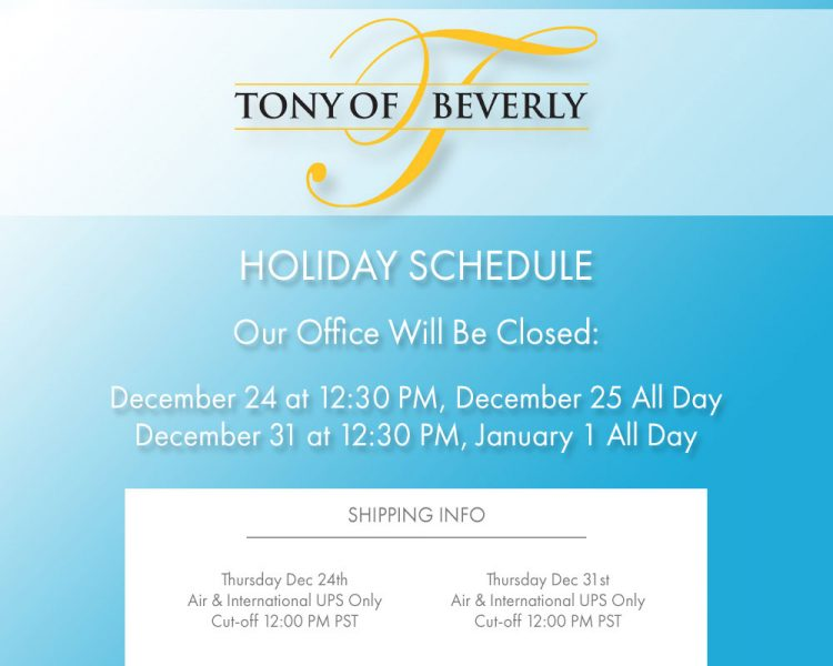 Holiday Schedule 2015