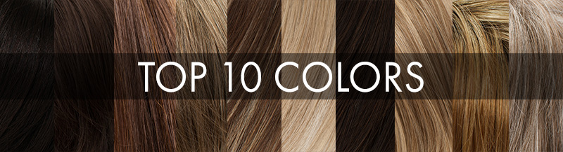 Can You Guess our Top 10 Colors?
