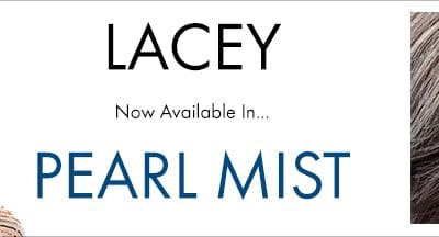 Lacey Has Arrived in Pearl Mist
